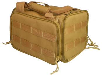 "American Buffalo AB091T Universal Range Bag/Transport Bag Nylon 12"" x 9"" x 9"" Tan"