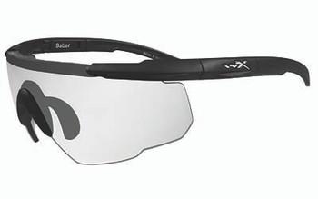 05e55d194e Wiley X Eyewear 303 Saber Advanced Safety Glasses Matte Black Clear