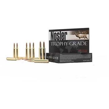 Nosler 60084 Trophy 30-06 Springfield 168GR E-Tip Lead-Free 20Bx/10Cs Brass