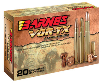Barnes 22030 VOR-TX 470 Nitro Express TSX Flat Base 500 GR 20Box/10Case