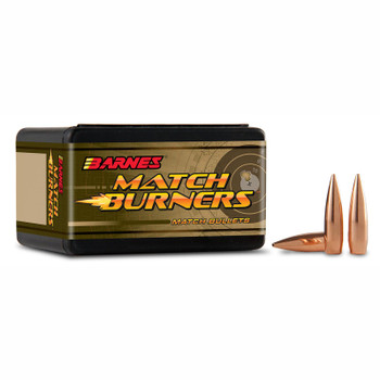 Barnes Bullets 30206 Rifle 6mm .243 105 GR Match Burners Boat Tail 100 Box