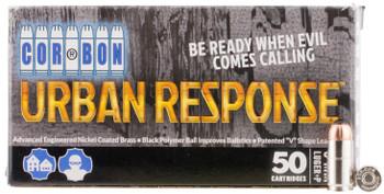 Cor-Bon UR09100 Urban Response 9mm Luger 100 GR Pow''rball 50 Bx/ 25 C