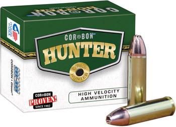 Cor-Bon HT300WBY180 Hunter 300 Weatherby Magnum 180 GR Bonded Solid Base 20 Bx/