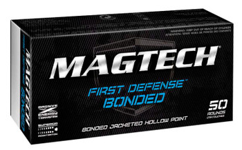 Magtech 40BONA First Defense 40 Smith & Wesson 155 GR JHP Bonded 50 Bx/20 Cs