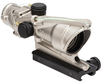 Trijicon 100197 ACOG 4x 32mm Obj 36.8 ft @ 100 yds FOV Tube Dia Nickel Boron Ho
