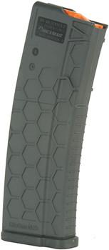 Hexmag Magazine Ar-15 5.56X45 15Rd Gray Polymer SE