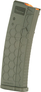 Hexmag Magazine Ar-15 5.56X45 15Rd OD Green Polyme