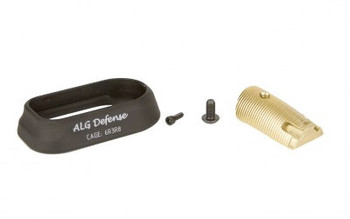 ALG Flared Magwell FOR Glock 17/22 Black AFM-BLK