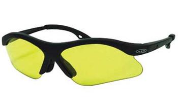 Peltor Youth Glasses Black Fr/Amber