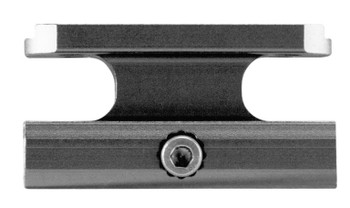 Aim Sports 1-Piece Base For AimPoint Accessory Rail Style Black Hard Coat Anodi