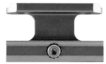 Aim Sports 1-Piece Base For AimPoint Accessory Rail Style Black Hard Coat Anodi MT071