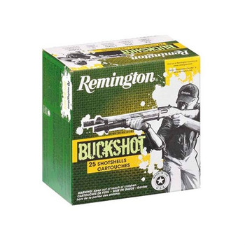 "Remington EXP 12Ga 2.75"" 00 BCK 25/250"