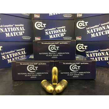 COLT AMMO COMPETITION 45ACP 230GR FMJ 50/20