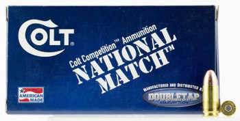 Colt Ammo 9M124fmjct National Match  9MM Luger 124