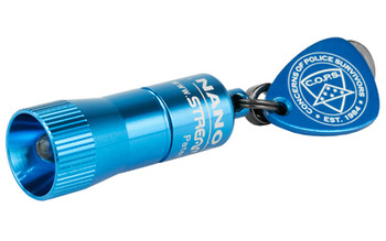 "Streamlight Nano 1.47"" LED Blue Cops 73002"