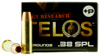 G2 Research Telos 38Spl +P 20/25 G00618