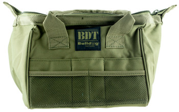 BULLDOG CASES AMMO & ACC BAG GRN