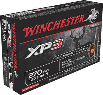 Win Ammo SXP270WA 270 Win Supreme Elite XP3 130 GR 20Box/10Case