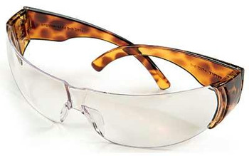 Howard Leight W300 Tortoise Shell Clear Glass
