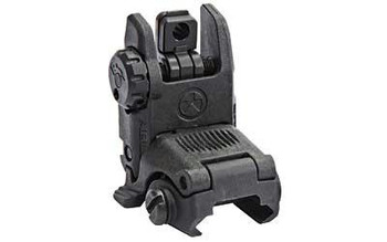 Magpul Industries Corporation Sight Mbus Rear Back-Up Sight Polymer Black
