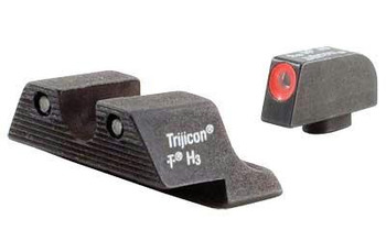 Trijicon HD Night Sight SET FOR Select Glock Pistols - Orange Front Outline