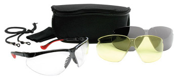 Howard Leight XC Glasses Combo 3 Lenses/Case