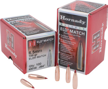 Hornady Bullets 6.5Mm .264 100Gr. Eld-Match  100Ct