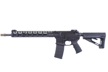 "Noveske 02000430 Light Recce GEN III With M-Lok Semi-Automatic 223 Rem/5.56 Nato 16"" 30+1 Black Adjustable Magpul STR Synthetic Stock Black Cerakote Aluminum Receiver"