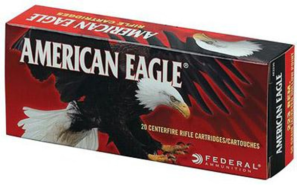 Federal AE223 American Eagle Rifle  223 Remington/5.56 NATO 55 GR Full Metal Jacket Boat Tail 20 BX/ 25 CS