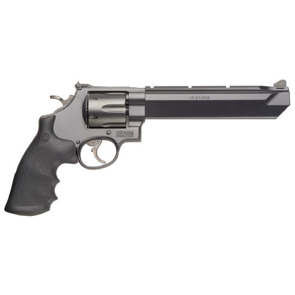 """SMITH & WESSON 629 STEALTH HUNTER .44MAG 7.5"""" AS BLACKENED SS RUBBER"""