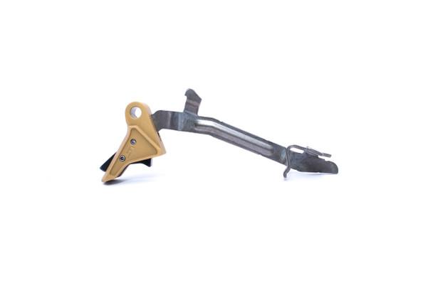 Fowler Industries Zero GEN 3/4 Trigger 2.0 Gold