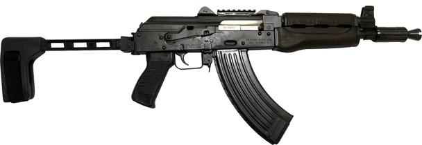 Zastava ZPAP92 Alpha AK-47 Pistol - Stained Wood Handguard