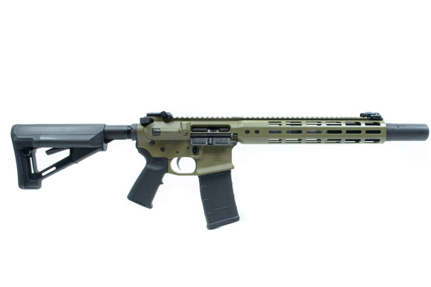 Noveske GEN 3 SD 300 Blackout 7.94 SBR Noveske Green (Suppressor Ready)