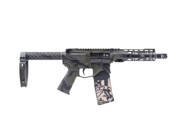 "Battle Arms Developement 7.5"" 300BLK PISTOL Tiger Stripe"