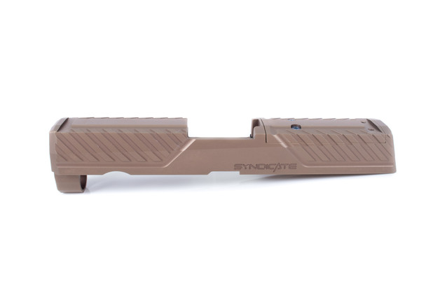 Agency Arms P320 Compact/X-Carry SYNDICATE S1 FDE PVD W/Internals & Guide ROD