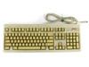 Compaq 160648-001 101-Key Spacesaver PS/2 Keyboard - RT101 160648-101 - YELLOWED