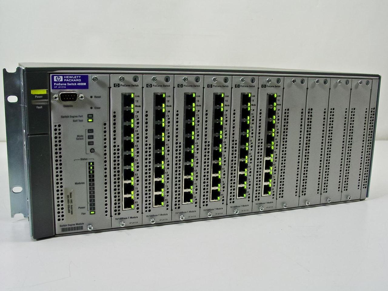 J4121A HP ProCurve Switch4000M and 8000m