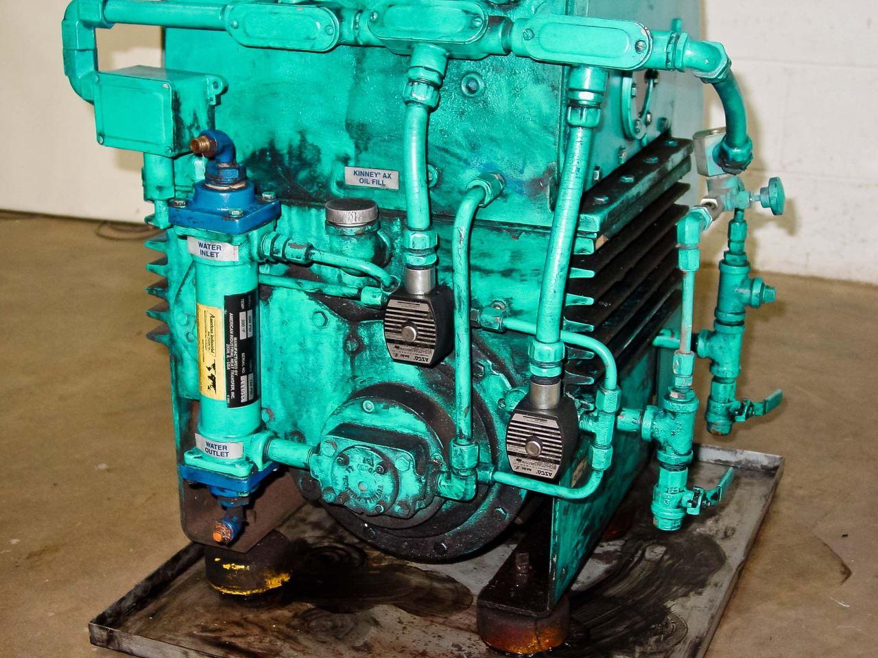 Tuthill Vacuum Systems KTC112 Kinney High Vacuum Pump 7 5 HP 107 CFM  (KTC-112)