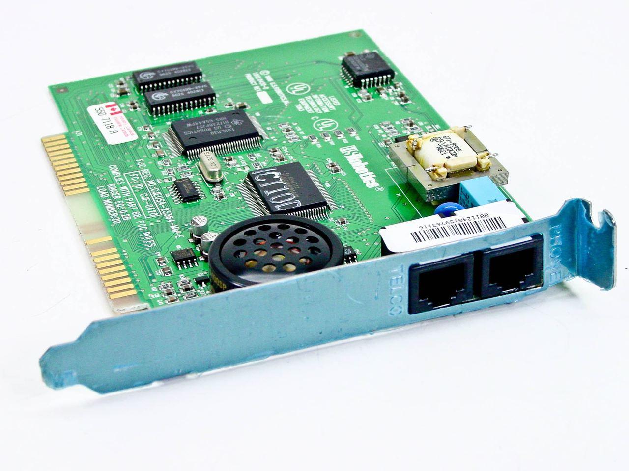US Robotics 00112401 28.8K Sportster Internal Win Modem Sportster #1.012.0420-D   RecycledGoods.com