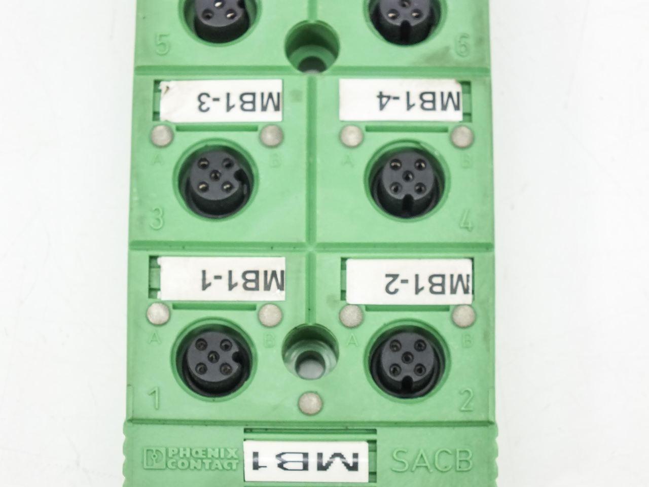 Phoenix Contact 16 80 432 8/16-L-PUR Sensor / Actuator Box (SACB)