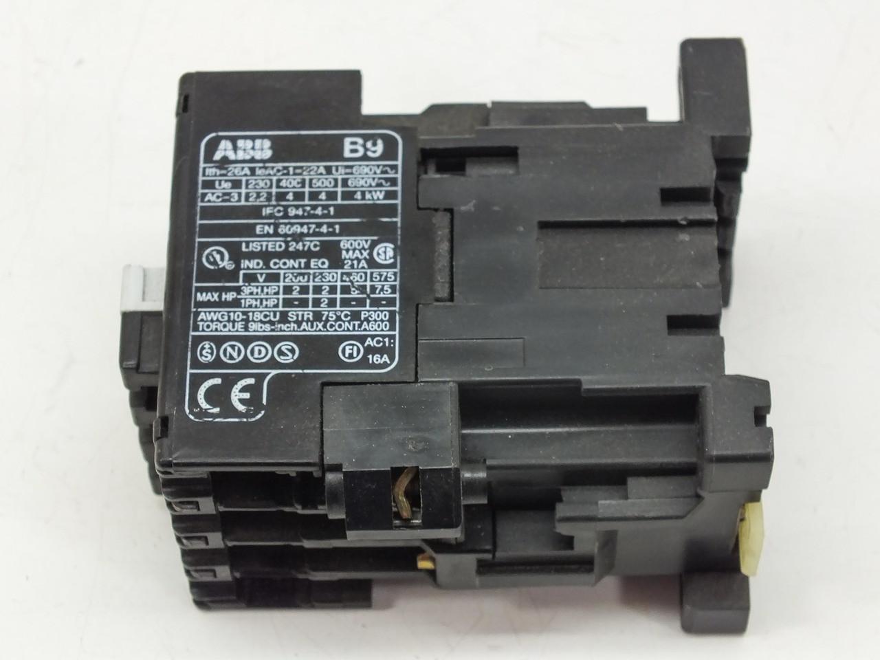 Abb Abb Control Contactor Coil B9 30 10