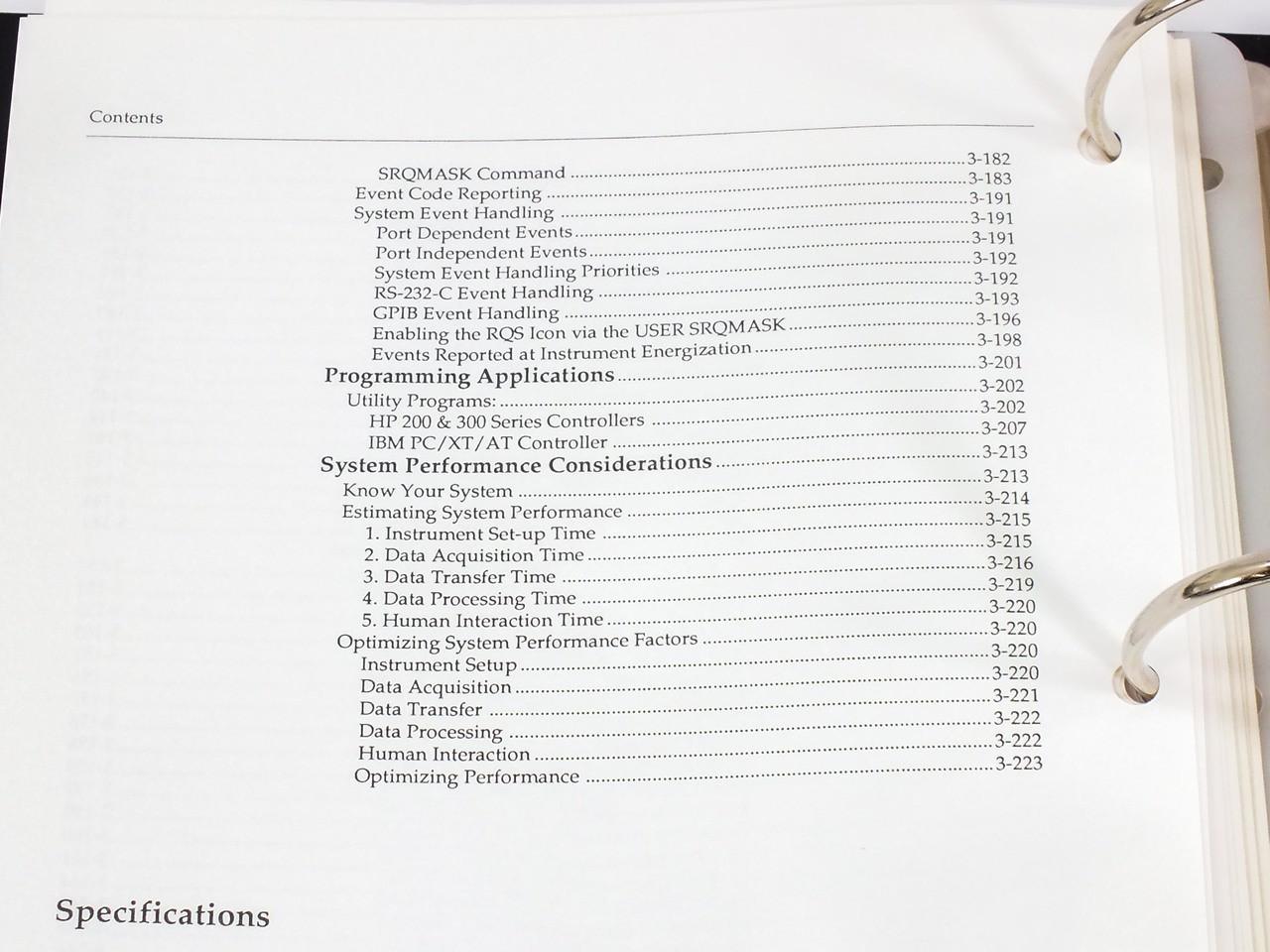 Tektronix 11401/11402 Digitizing Oscilloscopes Users