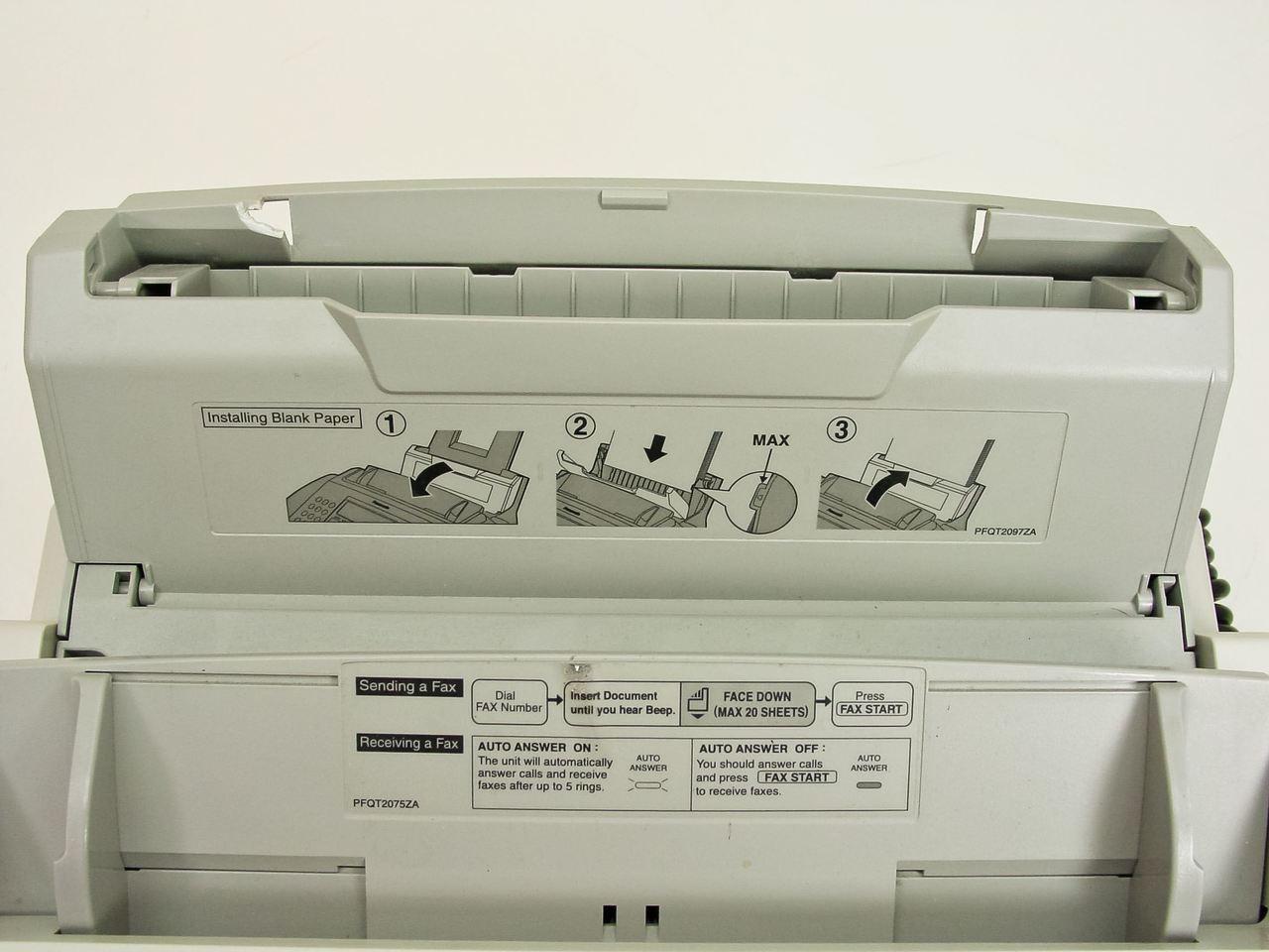 Panasonic Laser plain paper fax & Copier function KX - FL511