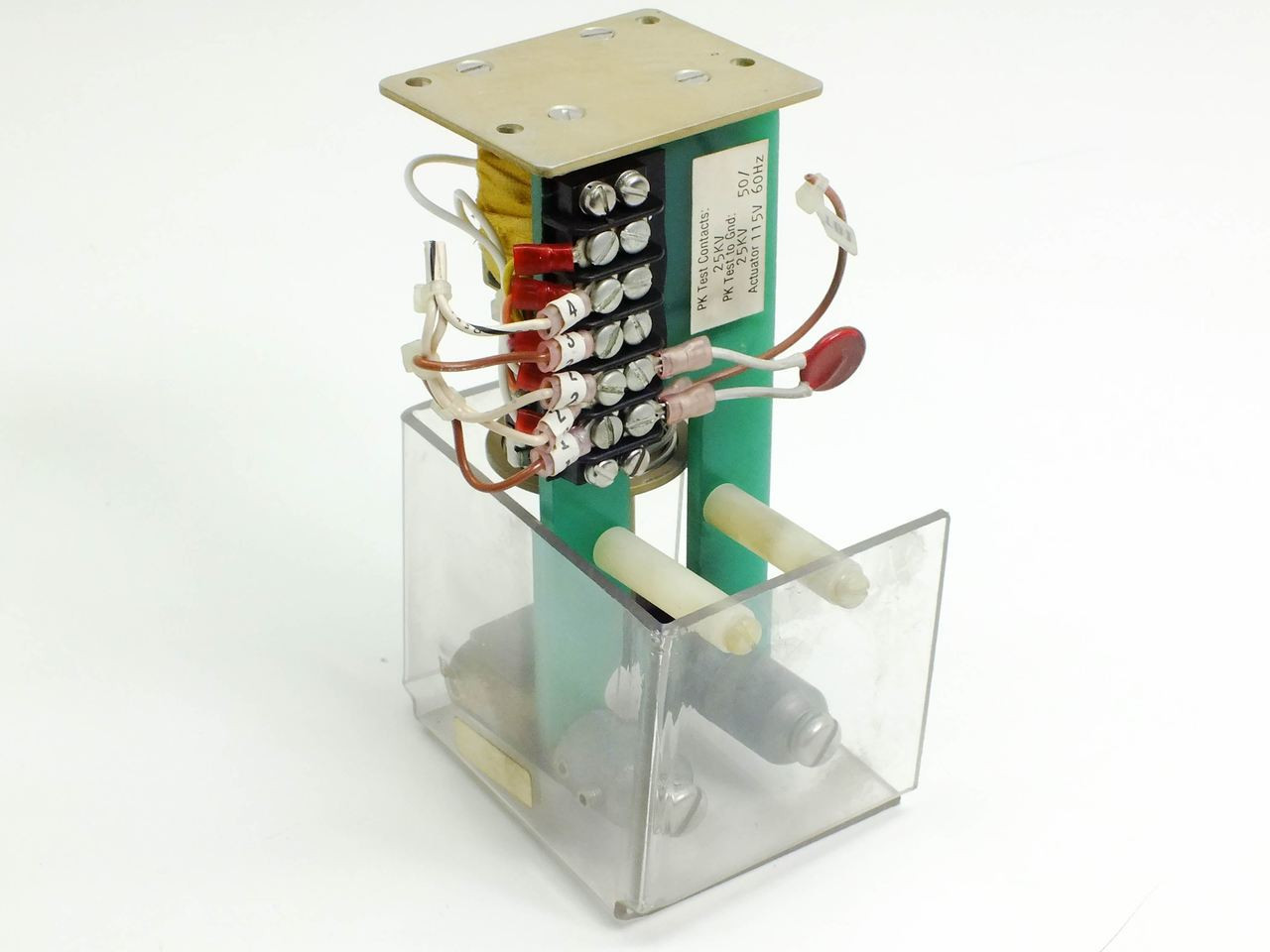 Ross Engineering E25-NC-25-1-15 High Voltage Relay/Contact, PK Test  Contacts 25k,