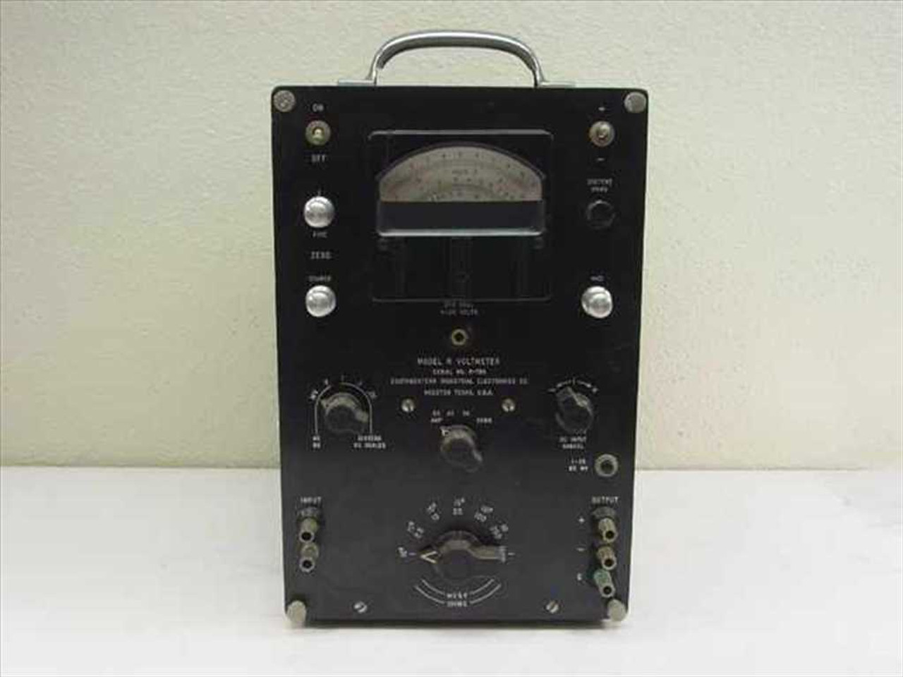 Vintage Collectibl Ballantine Laboratories Model 365 Sensitive DC Volt//Ammeter