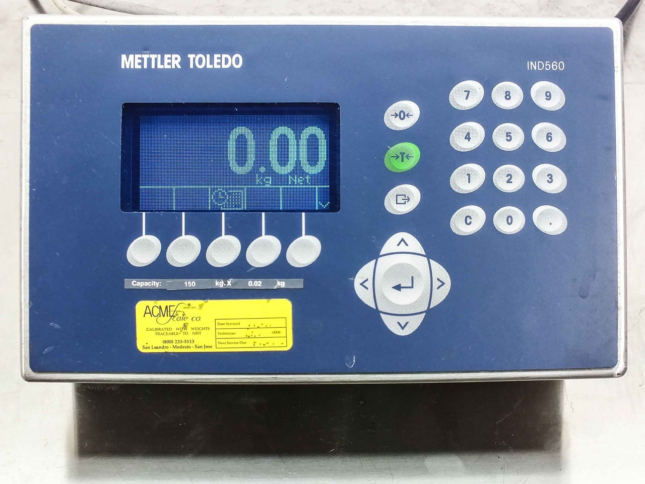 Mettler Toledo IND560 HARSH Digital Weighing Terminal (Scale Not Included)