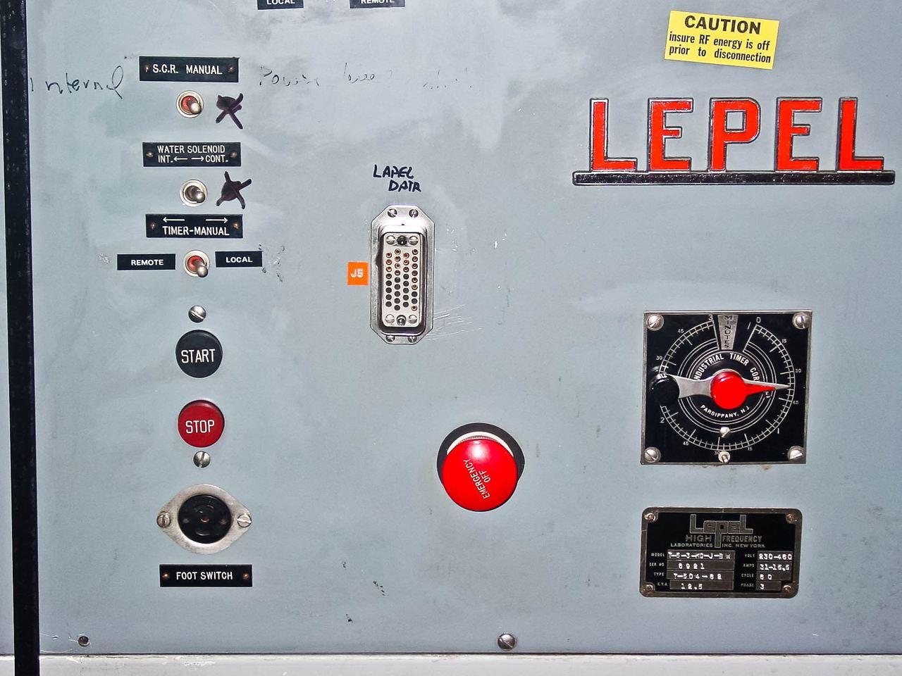 Lepel T-5-3-KC-JB-W 12 5 KVA RF Generator T50462