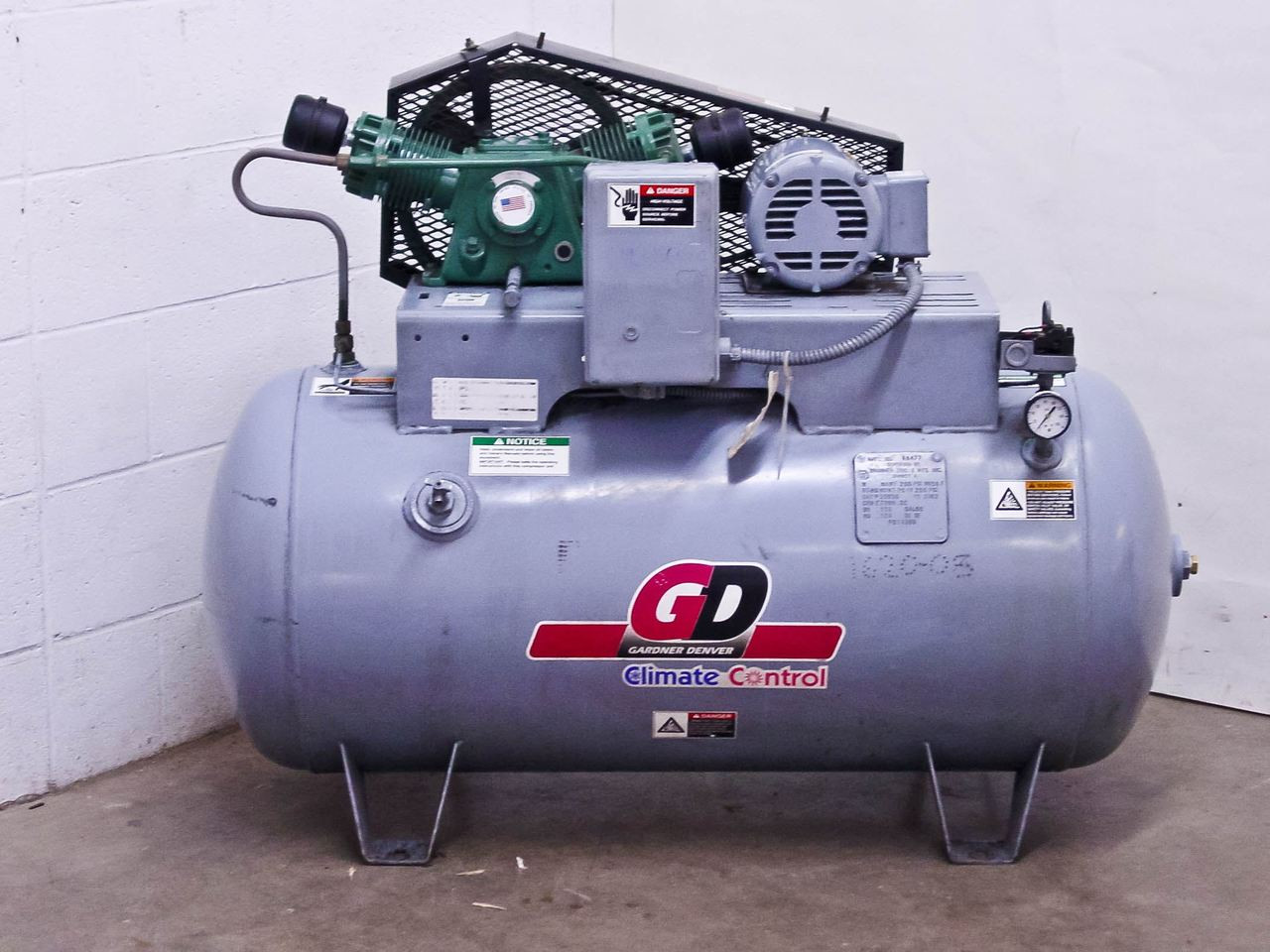 Gardner Denver 70 - 90 PSIG Air Compressor Tank