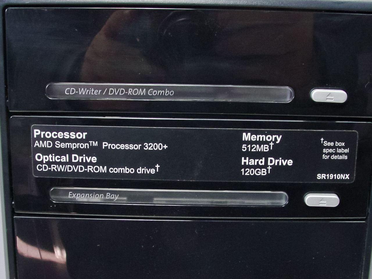 DRIVERS: COMPAQ SR1910NX