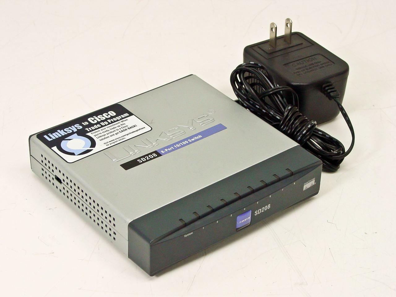 Linksys SD208 8 Port 10/100 Switch